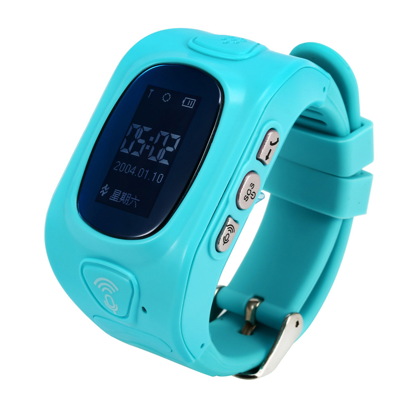 Children SOS Smart Watch Phone GPS Locator Tracker Anti Lost Cartoon font b Smartwatch b font