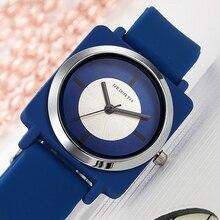 REBIRTH, женские часы, настоящие наручные часы, силиконовый ремешок, женские часы, квадратные часы, женские часы, relogio feminino saat