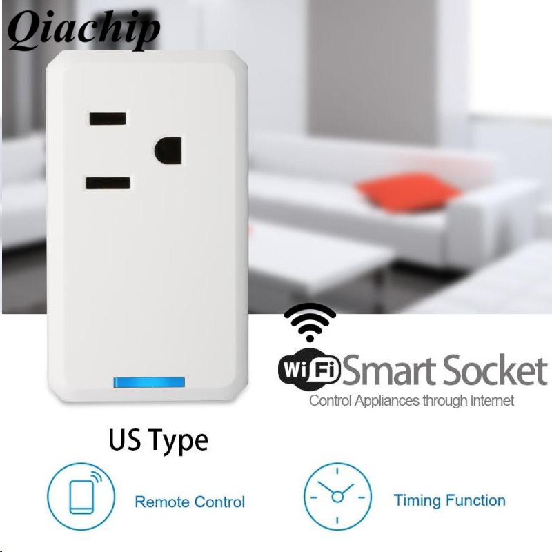 WiFi Smart Outlet Socket App Voice Relay Remote Control Timing Function Support  Amazon Alexa for iOS Android Smartphone C wireless remote control smart socket control power rf socket switch plug outlet for gsm 3g wifi golden security alarm systems