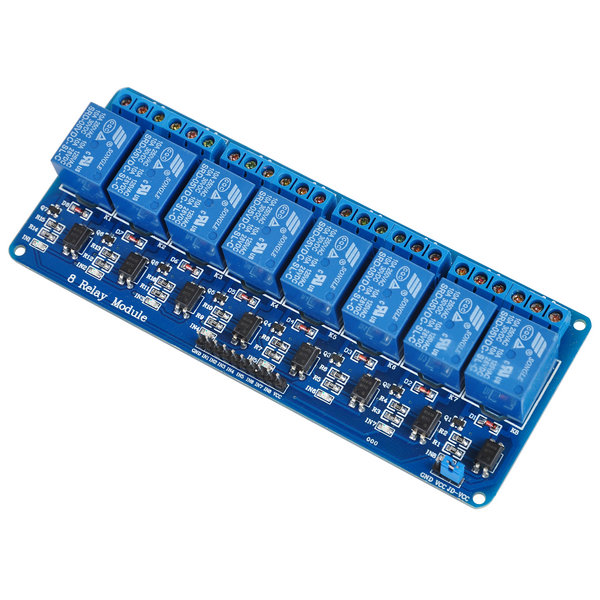 High Quality Eight 8 Channel 5V Relay Module With Optocoupler For PLC AVR DSP ARM Arduino 5v 2 channel ir relay shield expansion board module for arduino with infrared remote controller