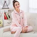Autumn Cotton Nursing set Shirt+Pants maternity clothes breastfeeding pajamas suit Maternity hamile pijama roupas de maternidade