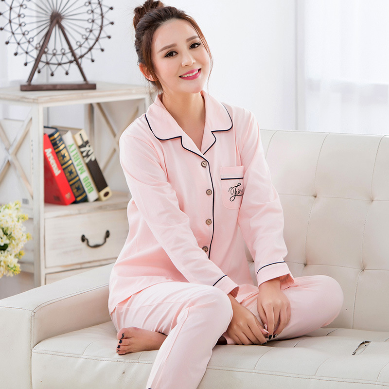 Autumn Cotton Nursing set Shirt+Pants maternity clothes breastfeeding pajamas suit Maternity hamile pijama roupas de maternidade