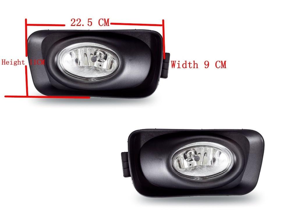For Honda Accord fog light halogen fog lamp 2003 2008 H11 12V 55W with wiring kit