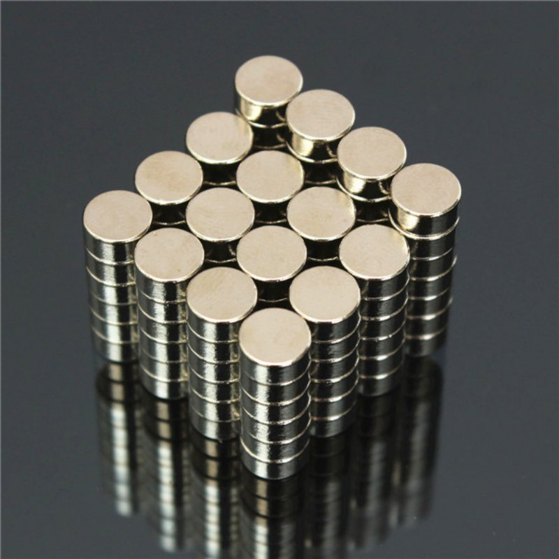 50 Pcs Mini 5x3 mm N50 Rare Earth Neodymium Strong Magnet Mass Super Magnets Materials 5032 osc 5x3 2mm 14m 14mhz 14 000mhz