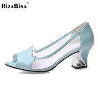 Women Real Genuine Leather Stiletto Peep Toe Lace Thin High Heel Shoes Sexy Fashion Pumps Ladies