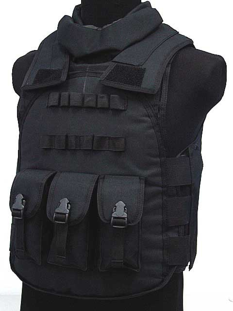 SWAT Airsoft Paintball Tactical Combat Assault Vest BLACK CS Party Supplies  Free shipping-in Party DIY Decorations from Home   Garden on Aliexpress.com  ... f2b19998fa2