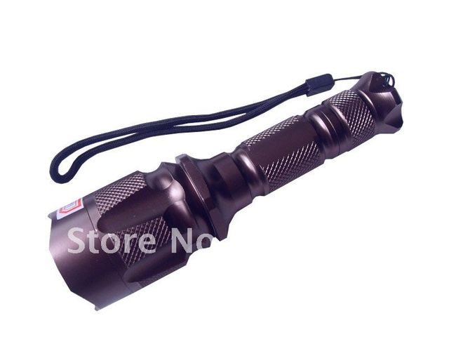 250 Lumen Zoomable CREE XM-L T6 LED 18650 Flashlight Torch Light 18650 Charger 10pcs/lot EMS/DHL Free SHipping