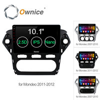 Ownice C500+ Android6.0 32G+2GB Car DVD Player GPS Navigation Radio 2.5D IPS For Ford Mondeo 2007 2012 Support 4G SIM DAB+ DVR
