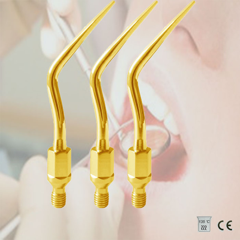 GK4T (KAVO:#7) Scaler Tip 3Pcs/lot Dental Equipment Services Fit KAVO SONICFLEX, SIRONA SROAIR, KOMET NONIC LINE