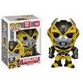 Genuino FUNKO POP 10 cm Autobots BUMBLEBEE figura de acción Bobble Head Q Edición nueva caja para la Decoración Del Coche
