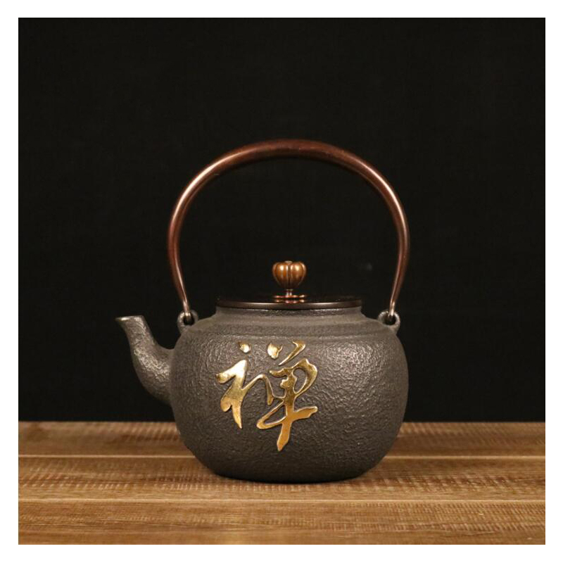Chinese Tea Teapot Handmade Health Iron Teapot China Green Puer Tea Kettle Drink Water Kettle Wine Pot Durable Tea Pot 1.1L 1.2LChinese Tea Teapot Handmade Health Iron Teapot China Green Puer Tea Kettle Drink Water Kettle Wine Pot Durable Tea Pot 1.1L 1.2L