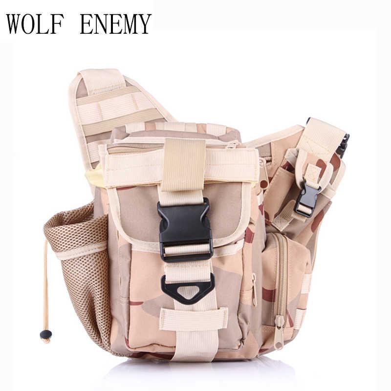 Армейский зеленый утилита Водонепроницаемый плеча Тактический рюкзак пятно Кемпинг путешествия открытый