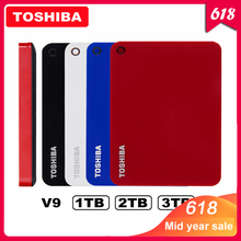 100 Toshiba Canvio Advanced V9 USB 3 0 2 5 1TB 2TB 3TB HDD Portable External Hard Drive Disk Mobile 2 5 For Laptop Computer tanie tanio Zewnętrznych 5400 obr TOSHIBA V9 2 5 w ZŁĄCZE USB 3 0 Serwer pulpit laptop Stock Brak 2015 6 GB s 78mm x 109mm x 14mm