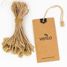 1000 pieces/lot jute hemp hang tag string in apparel 20cm ju