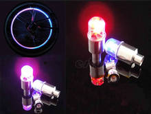 2019 Fashion 1 Pair Motor Bike Car Bicycle Tyre Tire Valve LED Bulbs Wheel Light Hot Sale(China)