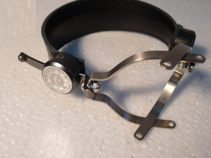 DIY Full Metal Headset head beam Metal head beam headband for D1100 A100