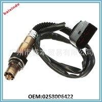 Universal O2 Oxygen Sensor For AUDI A4 2.4 AUDI A6L 3.2 3.4 0258006422 0258006423 #01052201-010