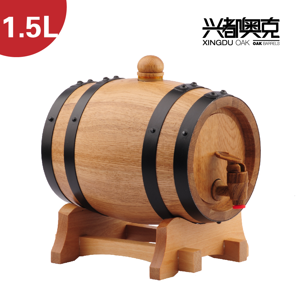 Small Wine Barrels For Decoration.Free Shipping 1 5l Liter Wood Beer Decorative Small Wooden