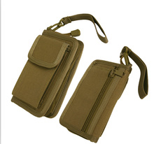 Tactical 600D Wallet Men Hand Bag Outdoor Camping Hiking EDC Pouch Smartphone Pocket for iphone6