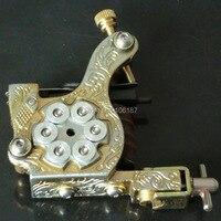 סגנון מלוטש מערבי האופנה ניו ליהוק ברזל עבודת יד קעקוע Machine Gun אספקה