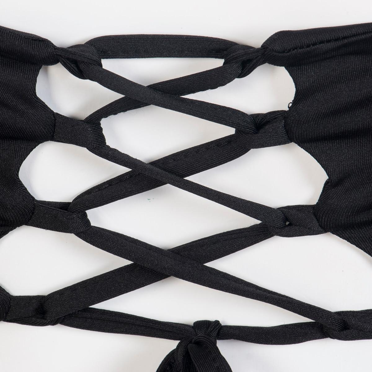 HTB1qPv8naigSKJjSsppq6ybnpXa2 Hirigin Women's Summer Long Sleeve Slash Neck Hollow Bandage Bodycon Night Club Party Dress