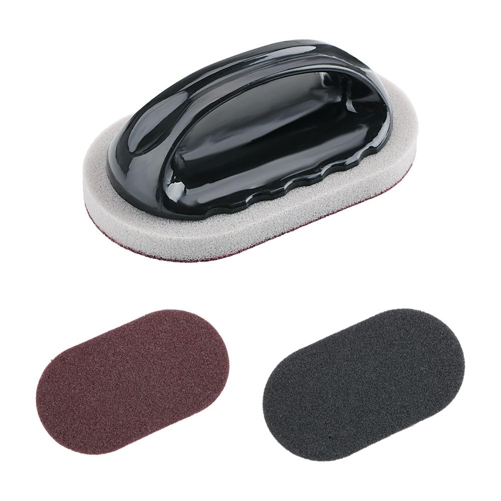 HTB1qPvmavfsK1RjSszgq6yXzpXaB - Kitchen Clean Tools Bath Tiles Sponge with Handle Diamond Sand Strong Decontamination Bowl Pot Brush Magic Sponge