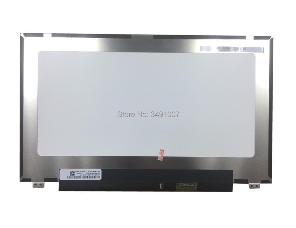 NT125WHM-N42 fit B125XTN01.0 12.5LED LCD Screen eDP 30pins 2 Special Screw Hole gf go7300 b n a3 gf go7400 b n a3