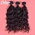 Coleen 7a cabelo virgem natural preto produtos para o cabelo 4 pcs peruano onda natural 100% cabelo humano barato cabelo peruano em venda