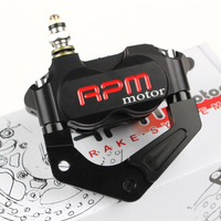 Universal For Yamaha RSZ JOG Force RPM CNC Electric Motorcycle Scooter Brake Pump 200 220mm Disc