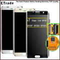 New Original LCD Screen Display With Digitizer Assembly For Samsung S7 Edge G935 G935F G935A G935V Blue/Silver/White Gold