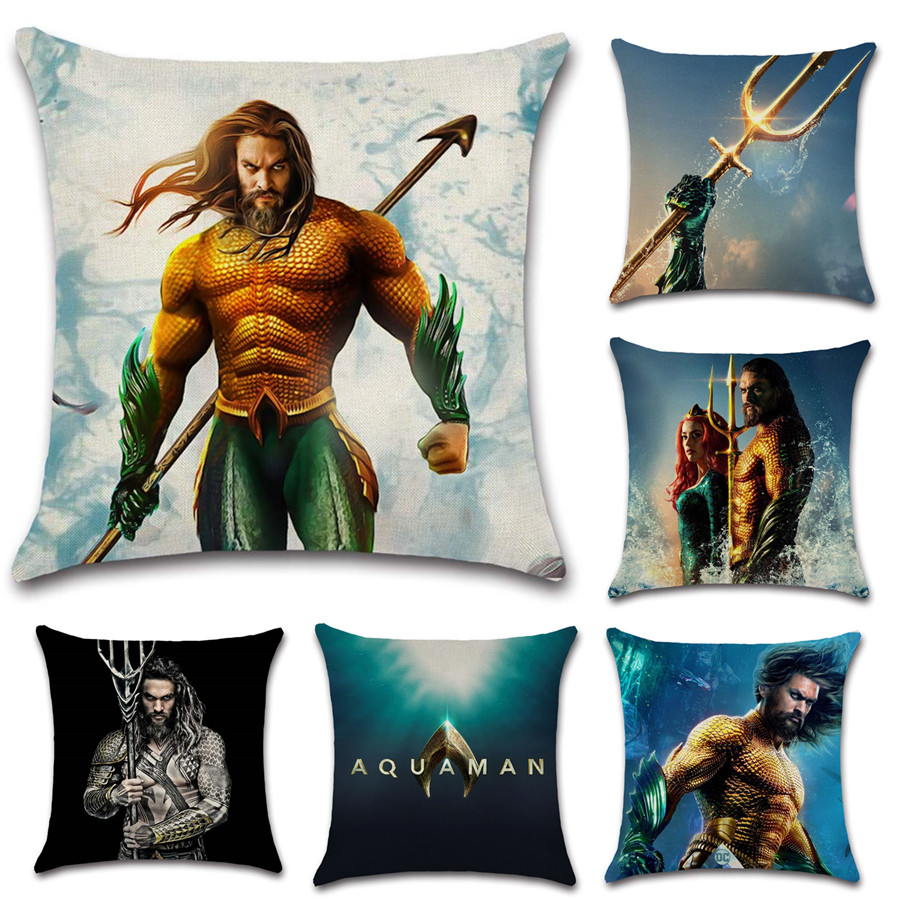 Comic movie show pattern supe hero Pillow Cases Cushion Cover Sofa Car chair office Decoration for home kids boy gift present