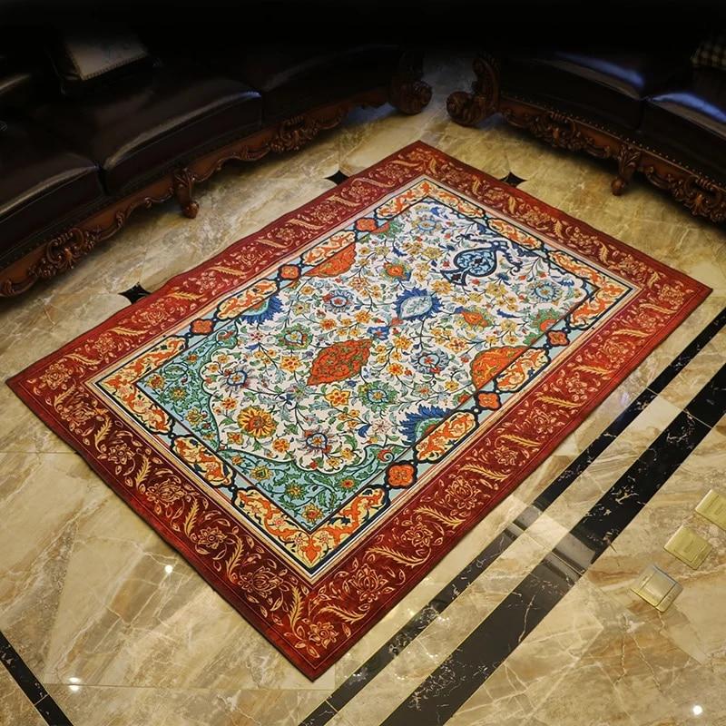 Slash Sales Retro Style Classical Living Room Rug 200