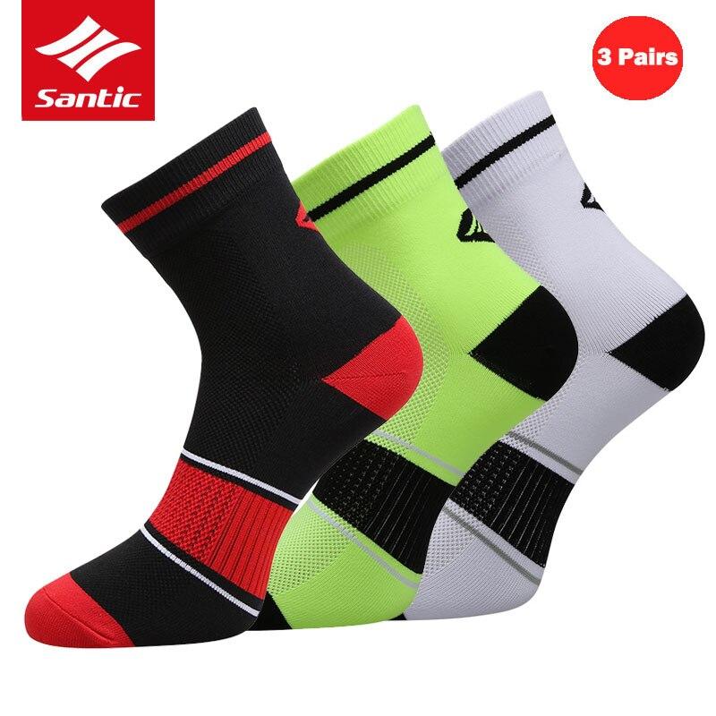 Santic Radfahren Socken Männer Frauen Professionelle Sport Socken Outdoor Sport Jogging Basketball Fahrrad Socken Calcetines Ciclismo