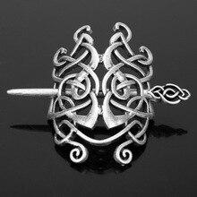 knot hairpin retro metal plate headgear European and American popular hair accessories