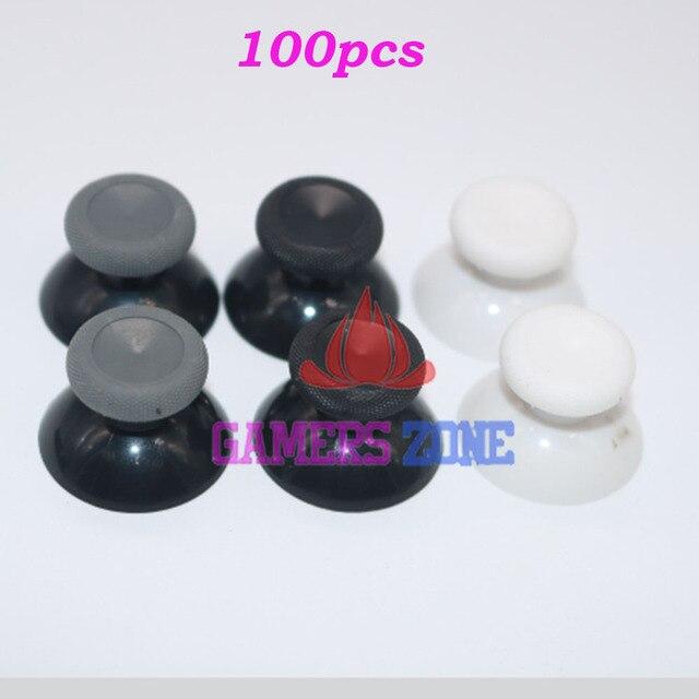 100 قطعة استبدال التناظرية Thumbstick متحكم الأصابع Xbox one ل ذراع تحكم أكس بوكس واحد أسود أبيض