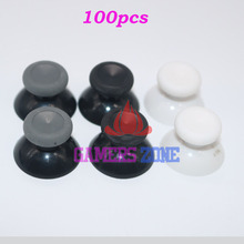 100pcs Replacement Analog Thumbstick Thumb Stick for Xbox one Controller Black  White
