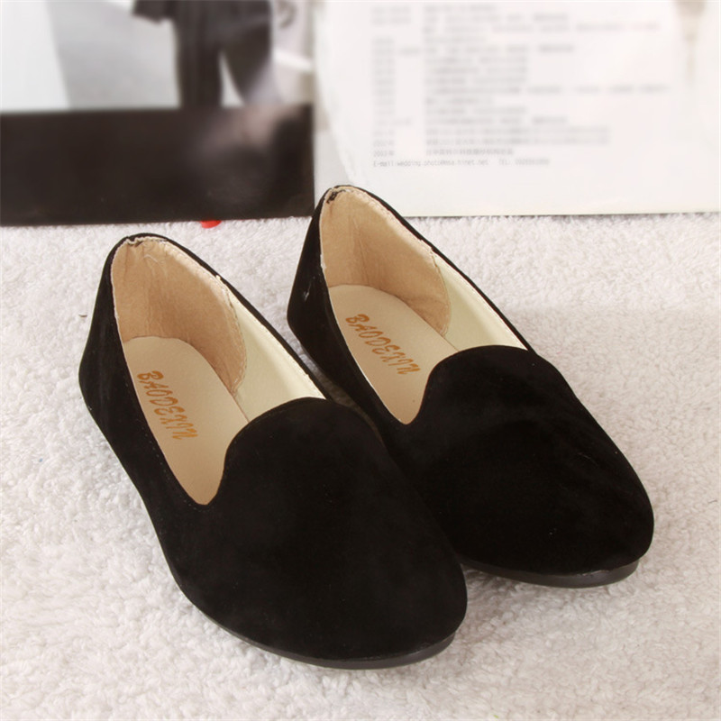 Spring Summer Ladies Shoes Ballet Flats Women Flat Shoes Woman Ballerinas Black Large Size 43 Casual Shoe Sapato Womens Loafe 2017 spring summer new women casual pointed toe loafers flats ballet ballerina flat shoes plus size 34 43