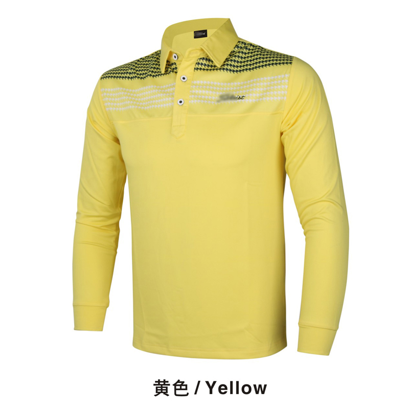 New golf clothing men long-sleeve Golf sport clothes POLO S-XXL 5 colors golf T-shirt Free shipping W7109