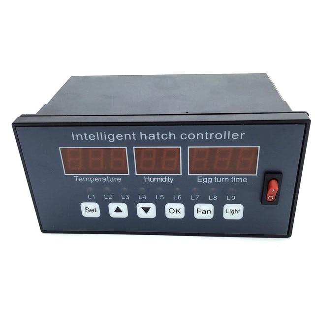 XM-16 контроллер инкубатора Лер автоматический и многоцелевой яйцо контроллер инкубатора системы переключатель вентилятора температура и влажности датчики