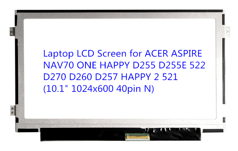 Laptop LCD Screen for ACER ASPIRE NAV70 ONE HAPPY D255 D255E 522 D270 D260 D257 HAPPY 2 521 (10.1 1024x600 40pin N) bresee high powered telescope hd 7x50 binoculars for hunting and outdoor adventure