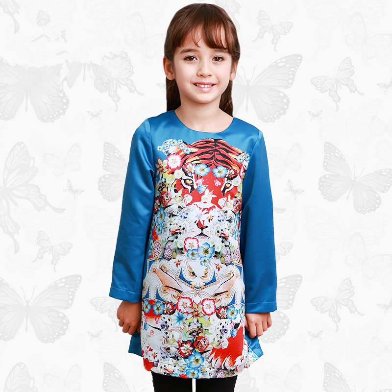 Toddler Girls Dresses Children Clothing 2017 Brand Princess Dress for Girls Clothes Fish Print Kids Beading Dress 1 24 toddler girls dresses children clothing 2017 brand princess dress for girls clothes fish print kids beading dress fanaideng 50