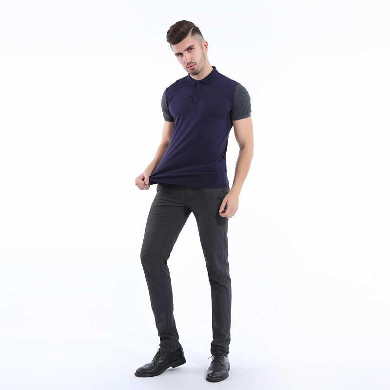 Liseaven 2017 Mens Fashion Polo Shirt Brand High Quality Short Sleeve Polos Solid Brand Polo Shirt Camisa Polo Masculina