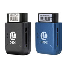 GPS TK206 OBD 2 Real Time GSM Quad Band Anti-theft Vibration Alarm GSM GPRS Mini Car Tracker Vehicle Obd GPS Free Installation(China)