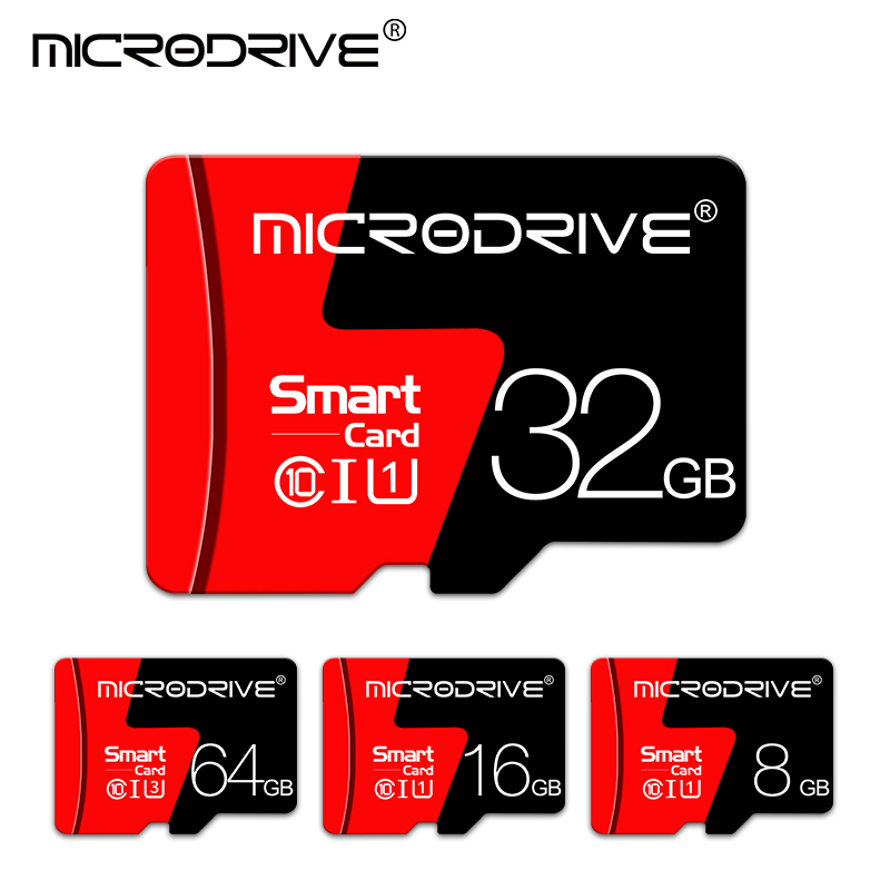 Microsd 32GB Flash-Drive Memory-Card Free-Adapter 16GB 4GB Tarjeta 8GB Mini 128GB Class-10