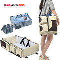Portable Baby Bed Crib Outdoor Folding Bed Travelling Baby Diaper Bag Infant Safety Bag Cradles Bed Baby Crib Safety Mommy Bag