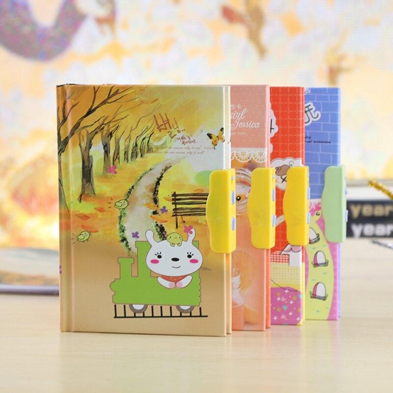 Gift Children Copybook Cartoon Butterfly Pattern Diary Book