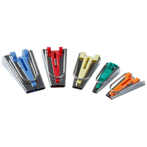 Type Maker Oblique Bias Tool Bias Tape Makers - 5 size 6mm 9mm 12mm 18mm 25mm bias Binding Maker Sewing Accessories(China)