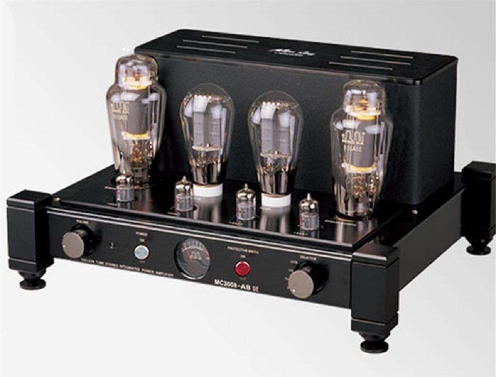 Meixing Mingda MC3008-AB SE Tube Amplifier HIFI EXQUIS Single-end Integrated 300B Push 805A SE Amp tube amplifier hifi shuguang kt100 2 x 15w dual mono block integrated single ended russian 6h1 preamp usa 6ak5 driving amplifier