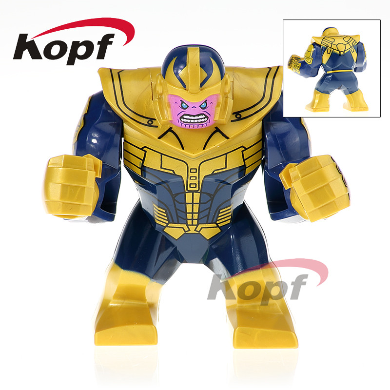 Single Sale Super Heroes Thanos Iron Man Corvus Glaive Lady Death Black Widow Bricks Building Blocks Children Gift Toys XH 815 single sale super heroes black widow captain america spiderman lady death bricks model building blocks children toys gift xh 822