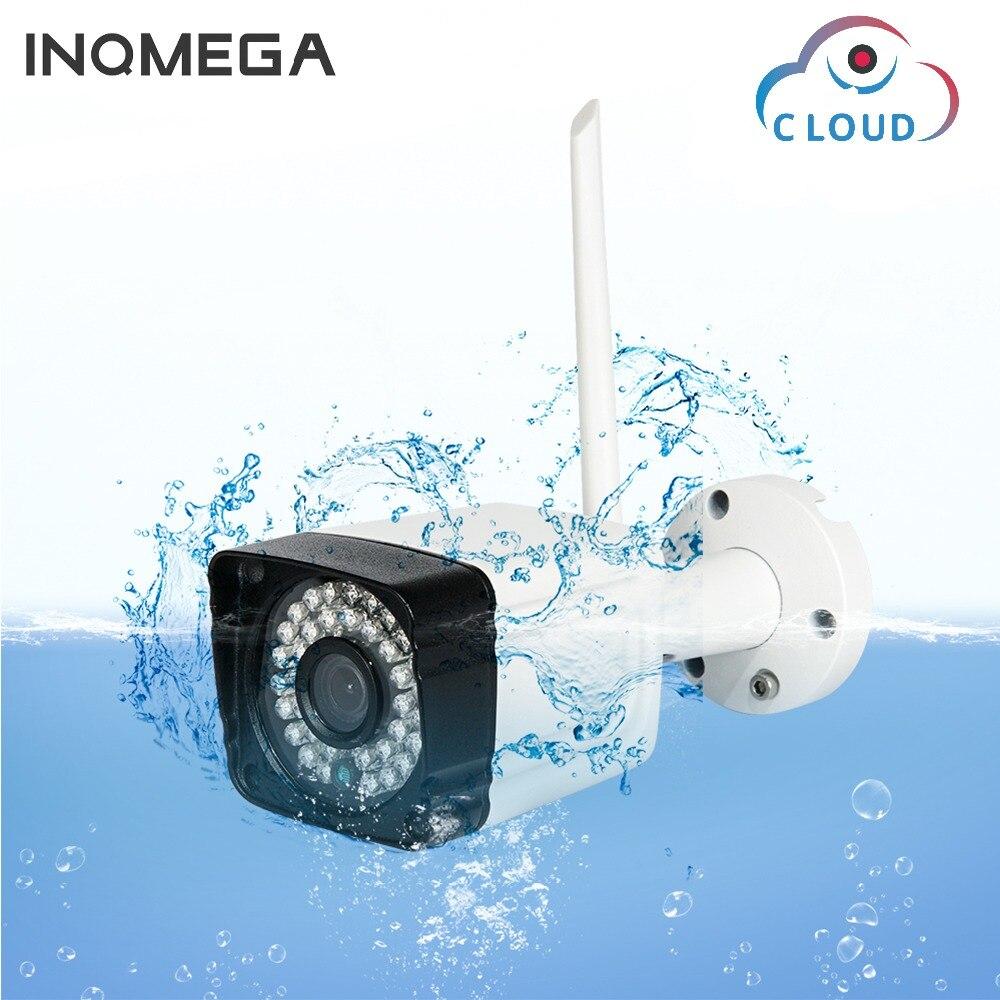 INQMEGA nube impermeable IP Cámara WiFi 1080 P 720 p vigilancia Bullet exterior cámara inalámbrica seguridad visión nocturna cámara CCTV